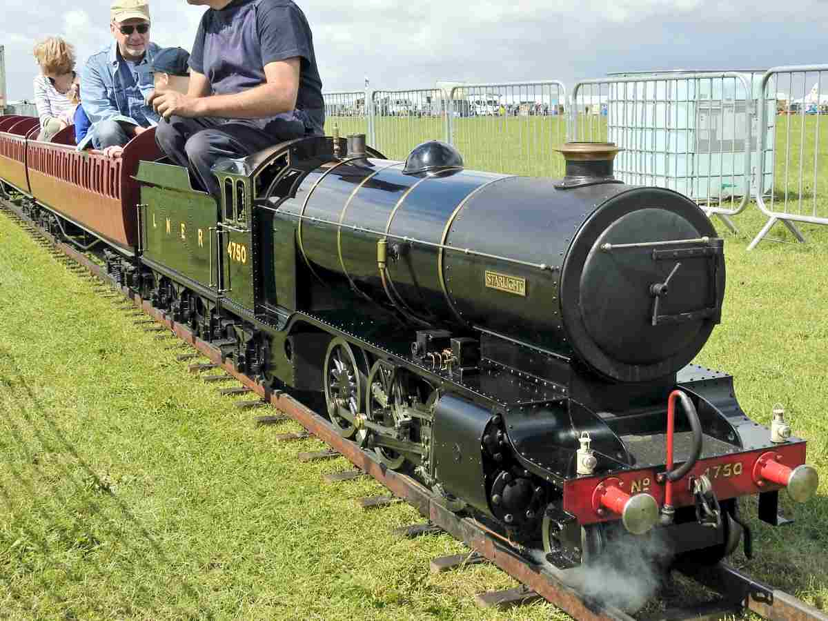 Miniature Steam Section