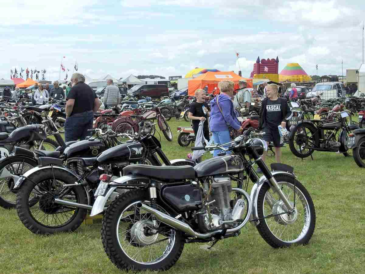 Motorcycles section