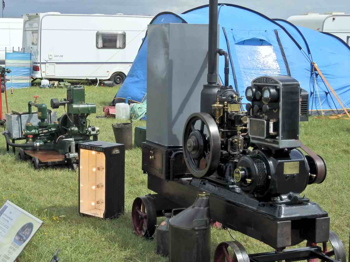 Stationary engines