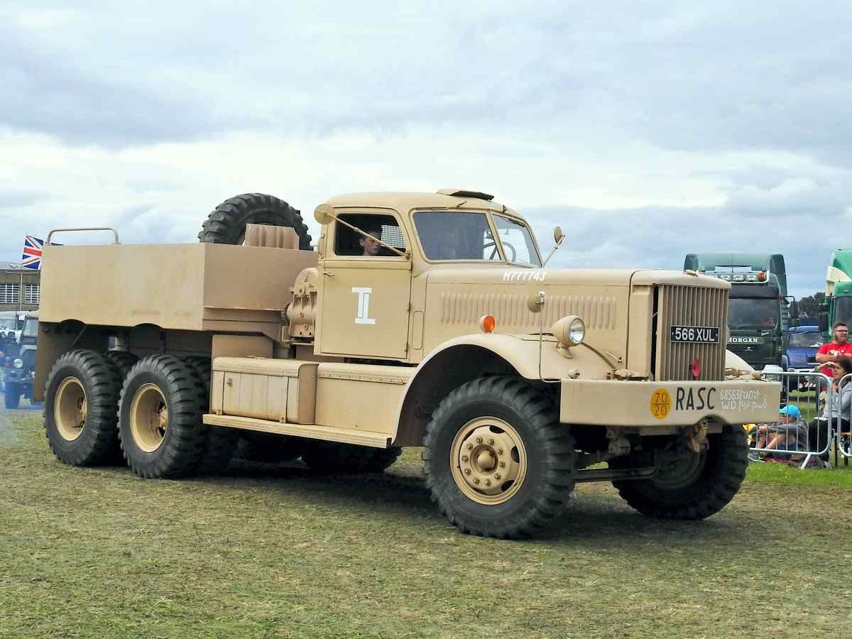 Military vehicles section