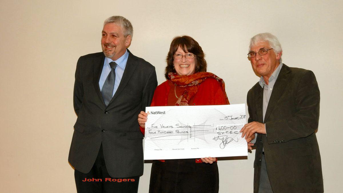Charity presentations