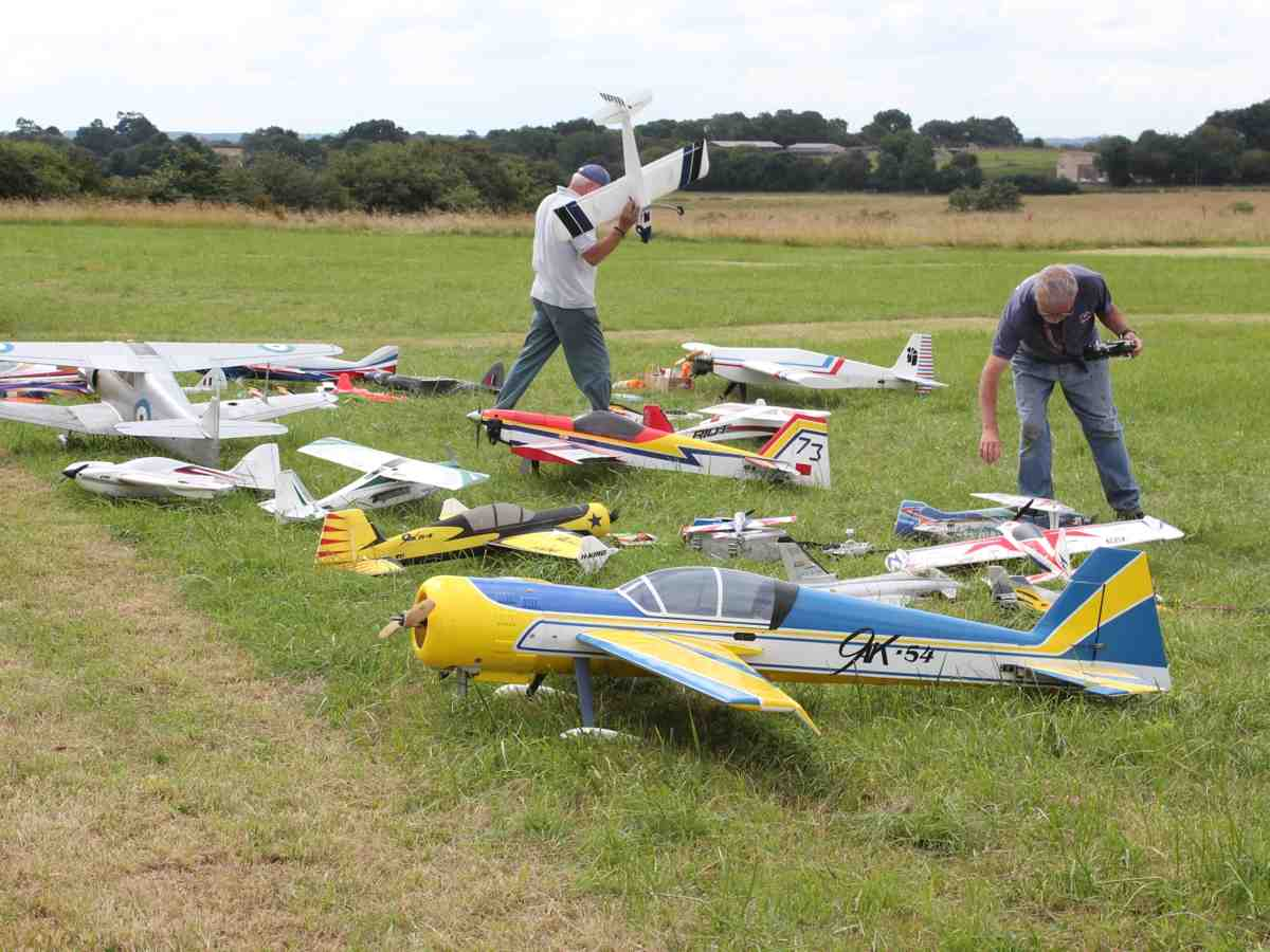 Models Flying Section